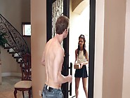 Young And Slutty Gabriella Ford Sucks And Screws The Dude