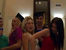 Awesome Group Sex In Graduation Party
