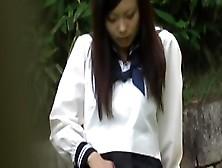 Voyeur Video Of Schoolgirl That Touches Her Clitoris On Street