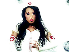 A Steaming Hot Asian Sex Doll Asa Akira Is A Naughty Nurse