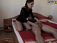 Amateur Brunette Loves To Dominate And Gets Her Pussy Licked Whi