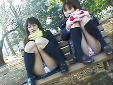 Asian Upskirt Closeups Of The White Lace Panty On Camera Dvd Dpm