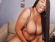 Curvy Black Blaze Spanking Monster Boobs And Clapping Ass