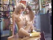 Vintage Lesbian Strapon Action And A Classic Threesome With A Fa