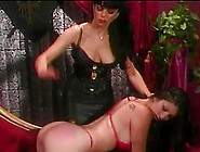 A Dominate Lesbian Spanks And Controls Her Sexy Girlfriend