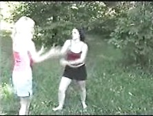 Porn For Free Catfight On Grass