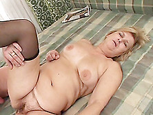 Hardcore Sex Vid With Mature Blond Evelin Getting Her Meaty Vag