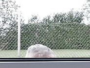 Spicy Curvy Ebony Haired Teenager Having Xxx Grandpa At Sports H