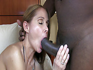 Hot Wife Rio Sucking And Fucking A Big Black Cock