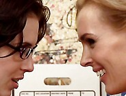 Tanya Tate & Aiden Ashley Scene 1 - Lesbian Office Seduction