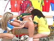 Lesbians Strip Down And Play Sex Game Xxx Game Beside Tight Puss