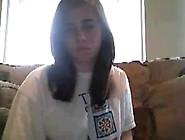Horny Cute Girl On Skype