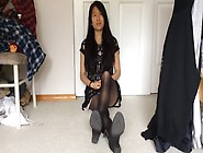 Filmers 21 Yo Asian Gf In Nylons Feet