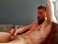 Bearded Hunk Masturbates For You