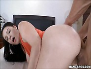 Noelle Easton Fucked In Orange Top