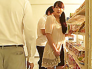 Japanese Cutie Pleases Herself With Fingering In The Kitchen