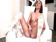 Aroused Adorable Petite Brunette Iwia With