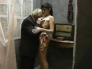 Grandpa,  Old Man And Girl