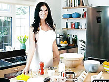 Hot Mom Jasmine Jae Bakes Something Yummy