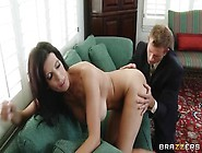 Pleasing Busty Milf Shay Sights Is Giveing A Friendly Blowjob
