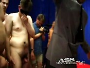 Beautiful Young Slut Takes Tons Of Cock In Gangbang