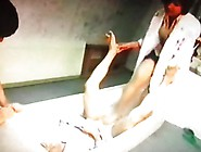 Patient's Last Wish.  Footjob Trample By Crazy Nurse