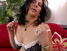 Brunette Milf With Natural Tits Melissa Monet Giving Head For Ji