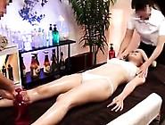 Asian Girl Gets A Massage