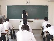 20 Bijin Haafu English Female Teacher Ozawa Maria Running Fire C