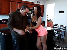 Jayden Jaymes And Her Neighbor Are Having Casual Sex While Their