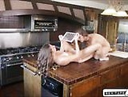 Cassidy Klein Fools Her Gf Into Sextape Instead Of Cooking