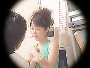 Lady From Japan Becomes A Real Star Of A Voyeur Video