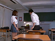 Marvelous Ayumi Kimino Goes Hardcore With Two Guys In A College