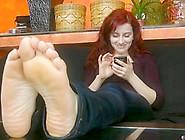 Lady Feet Soles Rub