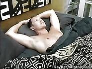 A Good Morning Cock Stroking For Hairy Simon