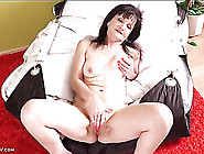Granny Rubbing Her Bald Cunt With Erotic Passion