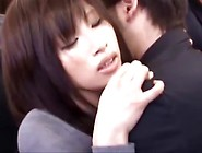 Japanese Girl Groped Thighjob