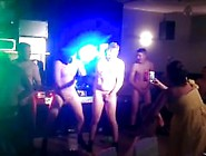 Losing A Bet - Group Of Guys Have To Dance Naked