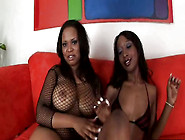 Bbw Black Hooker Kandi Kream And Stacey Cash Eat One Another In