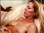 Blonde Slut Loves Getting Titty Fucked By Big Black Cock In Her