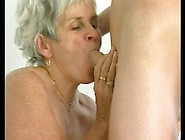 Granny Can Still Fuck And Suck Cock Like A Whore