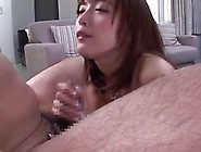 Sexy Ass Asian Babe Has A Cock She Grabs And Wanks
