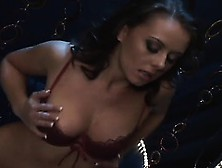 Bootylicious Broad Penny Flame Fucks Herself On A Strip Club Sta
