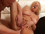 Granny Stally Gets Fucked Hard And Likes Cum On Her Face
