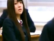 Nerdy Japanese Teen Cutie Drops Her Panties And Gets Her Cu