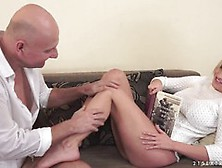 Blonde Teen,  Sienna Day Has A Kink On Older Guys,  Because They K