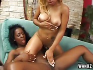 Horny Black Lesbians Get Each Other Off