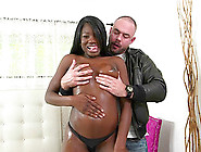 Ebony Babe Kay Love Cums All Over A White Guy's Cock