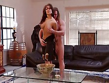 Busty Asia Carrera Rides Cock