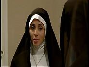 Jasmine Jem & Ariella Ferrera Lesbian Nuns